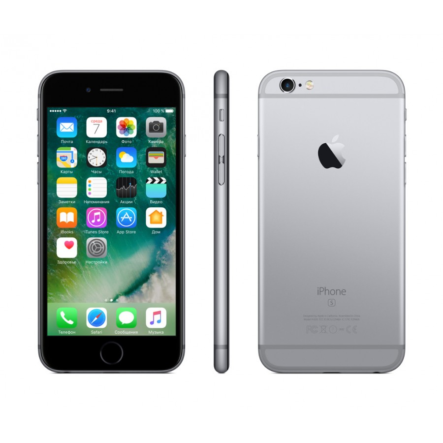 Купить Apple iPhone 6s Plus 32ГБ Space Gray в Сочи