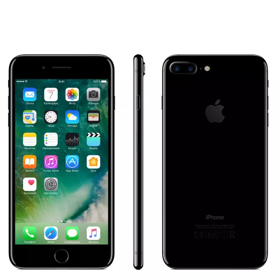 Apple iPhone 7 Plus 256ГБ Jet Black. Вид 2