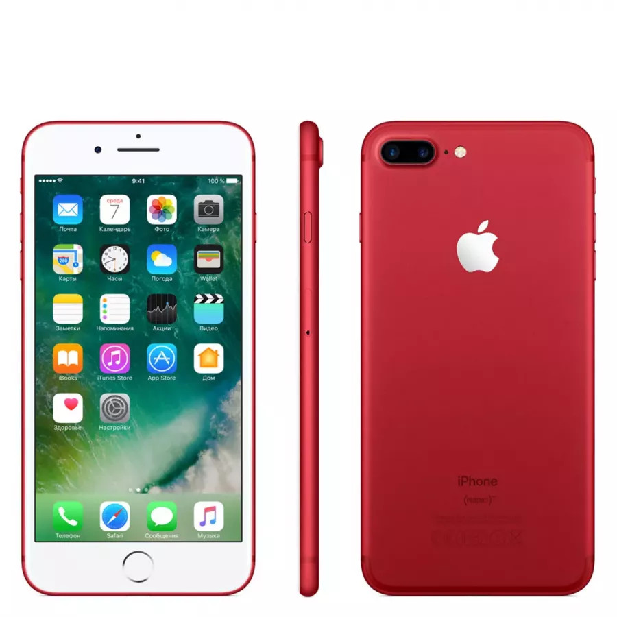 Apple iPhone 7 Plus 256ГБ (PRODUCT)RED Special Edition. Вид 2