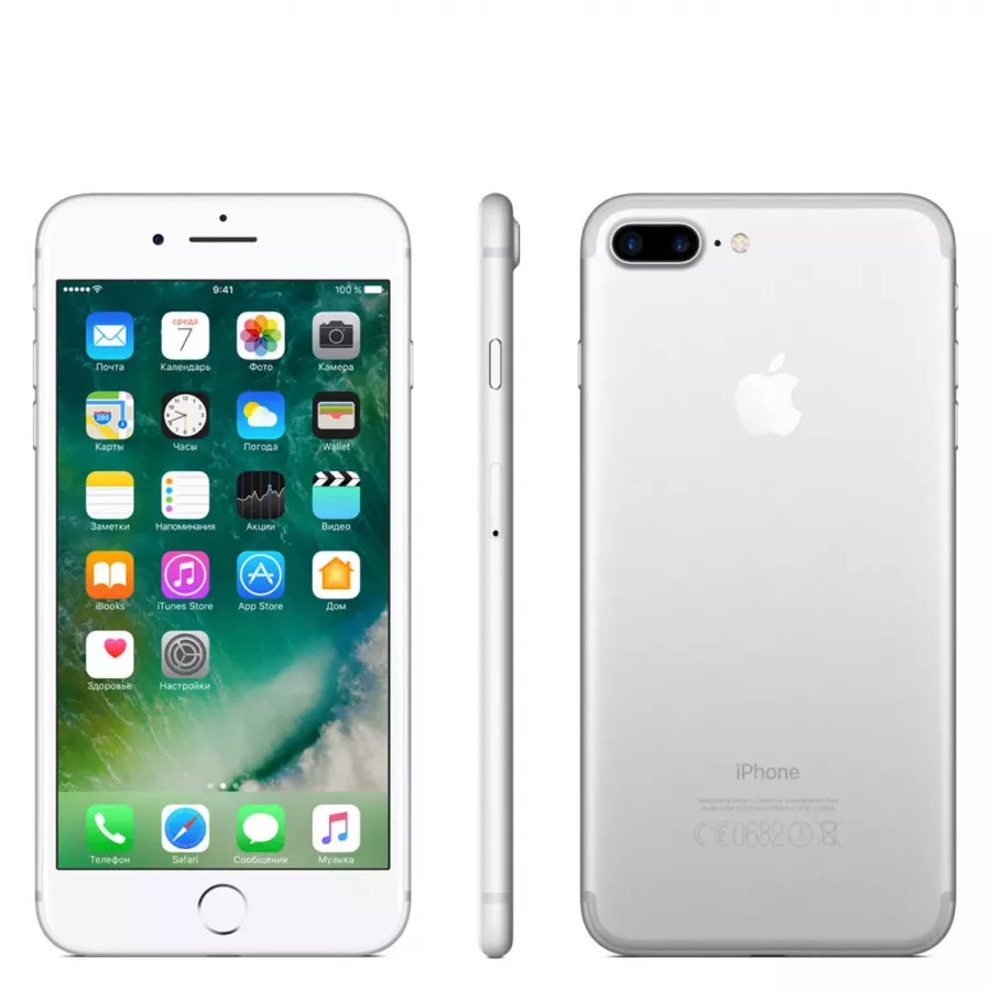 Apple iPhone 7 Plus 128ГБ Silver. Вид 2