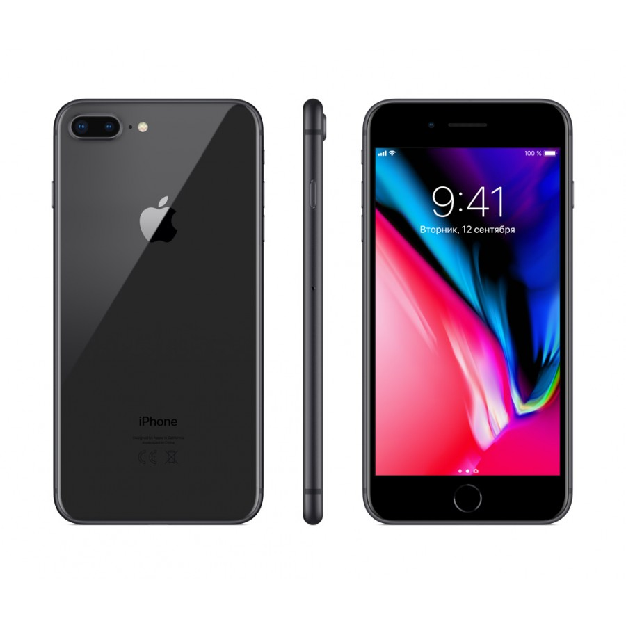 Apple iPhone 8 Plus 64ГБ Серый космос (Space Gray)