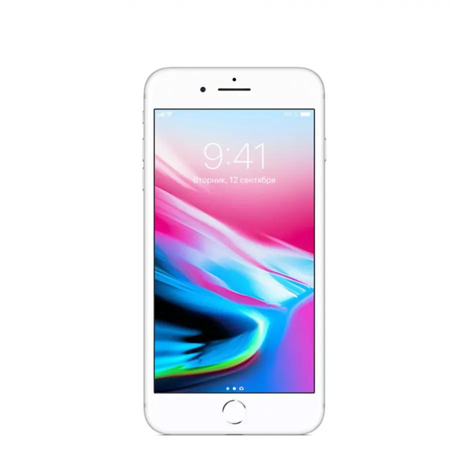Apple iPhone 8 Plus 128ГБ Серебристый (Silver). Вид 1