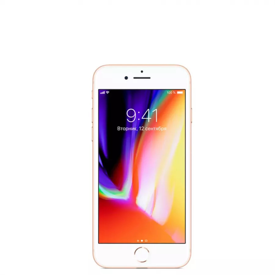 Apple iPhone 8 64ГБ Золотой (Gold). Вид 1