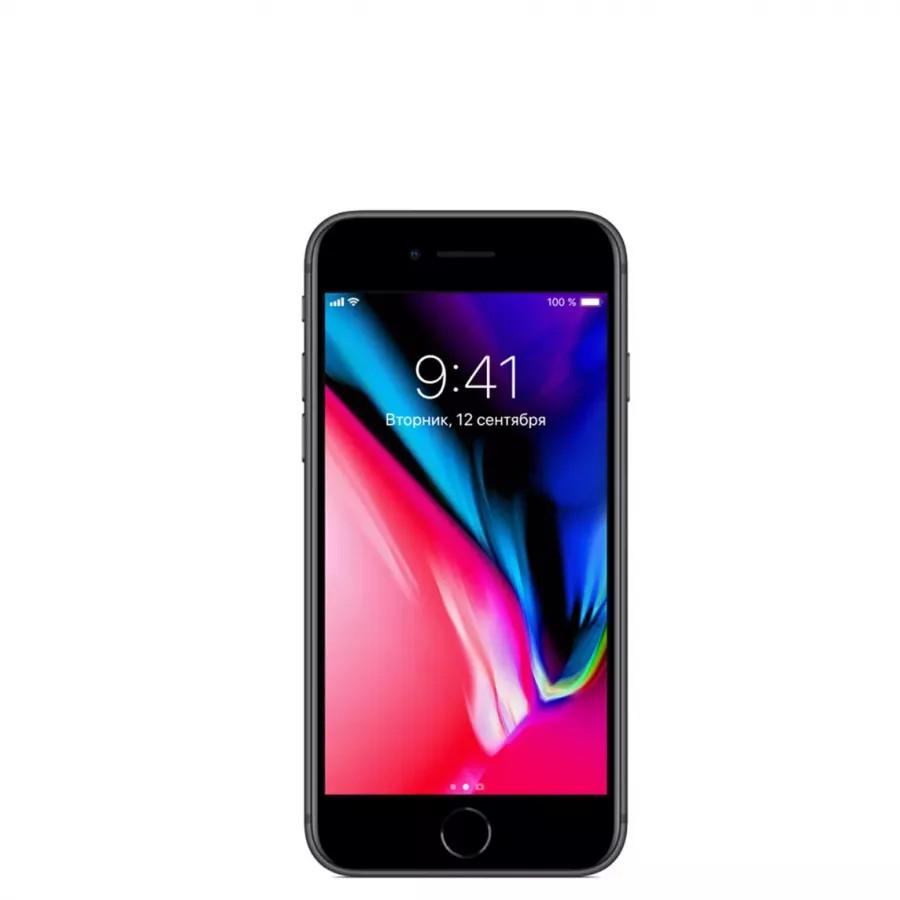 Apple iPhone 8 256ГБ Серый космос (Space Gray). Вид 1