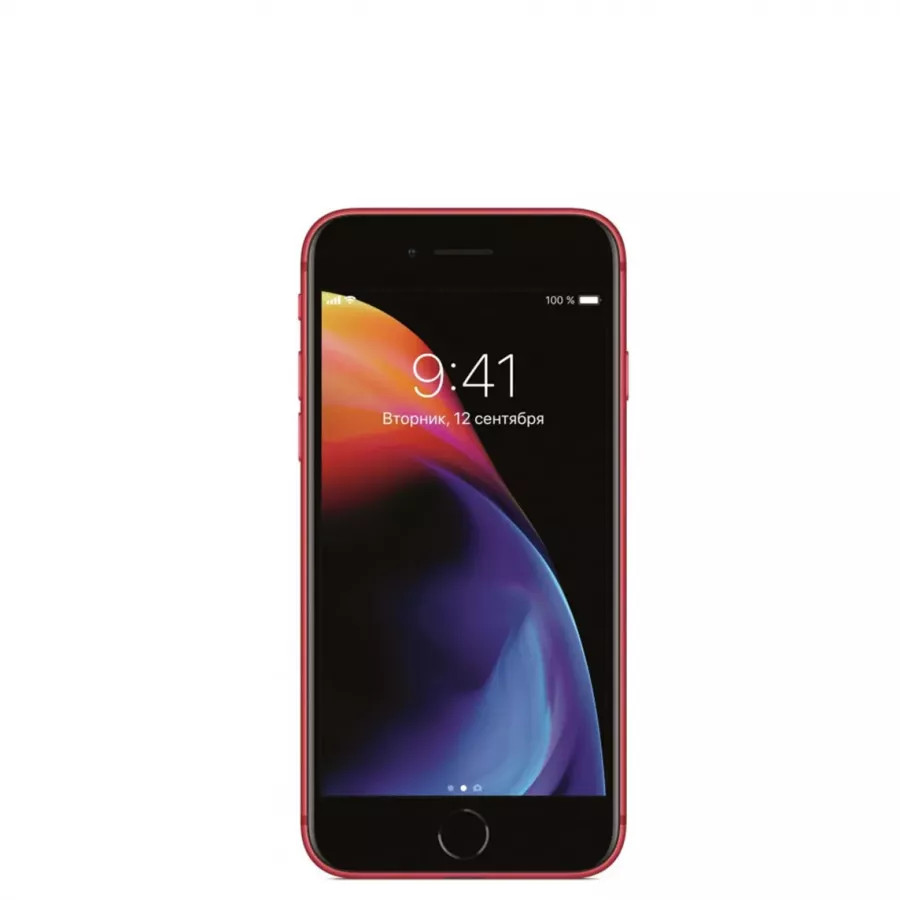 Apple iPhone 8 64ГБ (PRODUCT)RED Special Edition. Вид 1