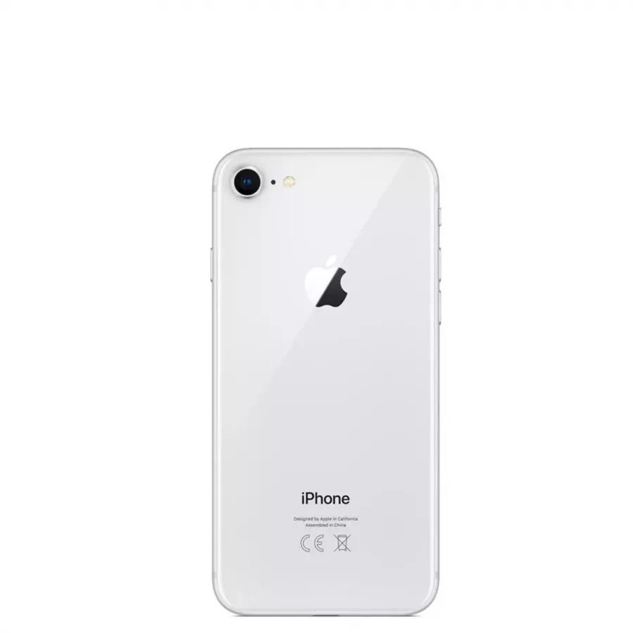 Apple iPhone 8 128ГБ Серебристый (Silver). Вид 2