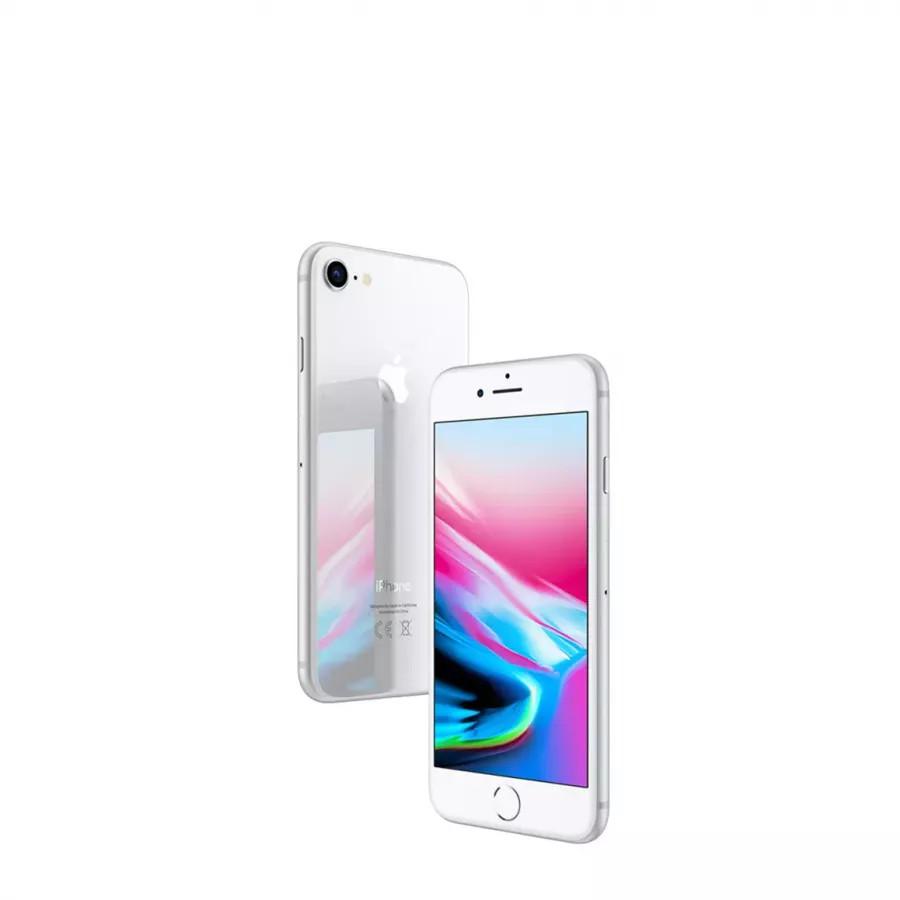 Apple iPhone 8 128ГБ Серебристый (Silver). Вид 4