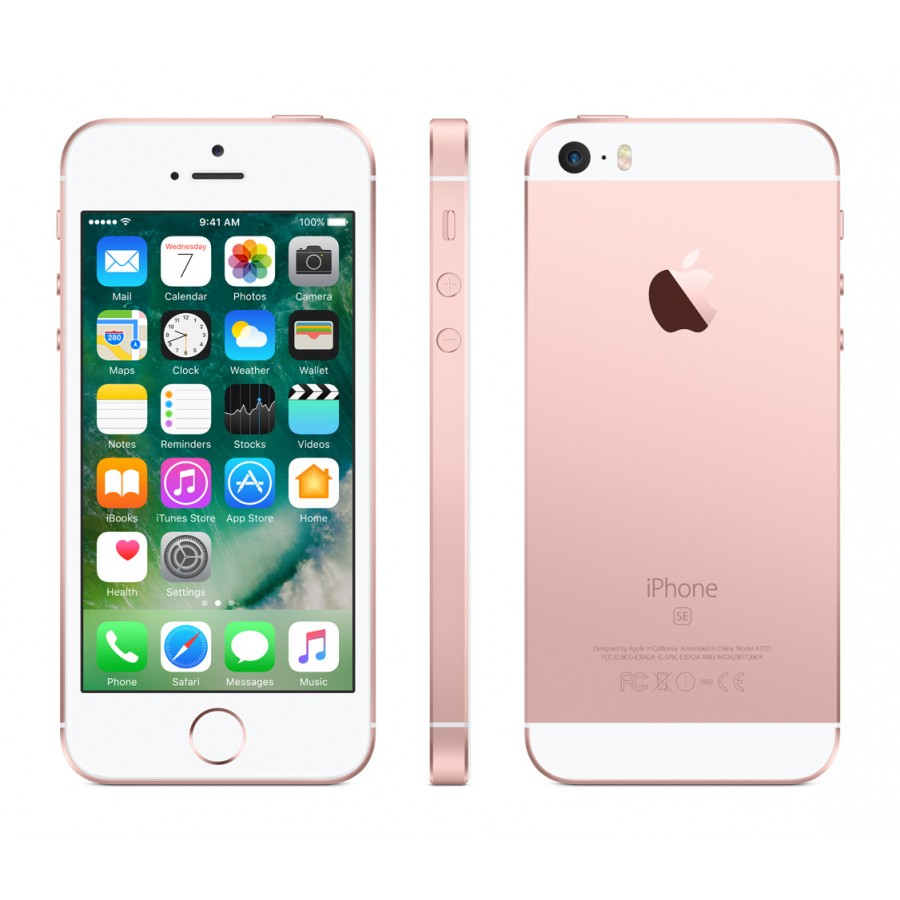 Apple iPhone SE 128ГБ LTE Rose Gold