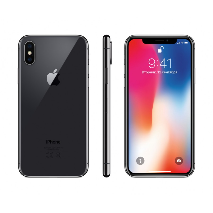 Apple iPhone X 64ГБ Серый космос (Space Gray)