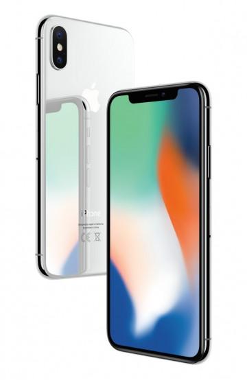 Apple iPhone X 256ГБ Без Face ID Серебристый (Silver) Как новый