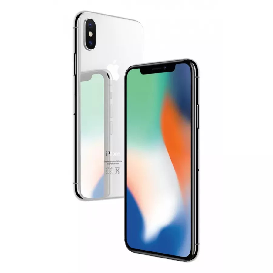 Apple iPhone X 64ГБ Серебристый (Silver)