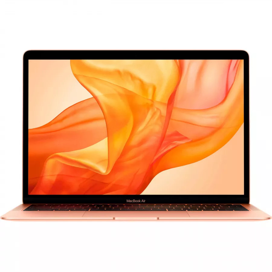 Apple MacBook Air 13 2020 (i3 1,1 ГГц, Turbo Boost 3,2 ГГц, 8ГБ, 256ГБ SSD) Золотой. Вид 1