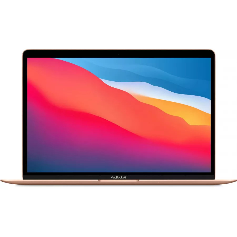 "Apple MacBook Air 13"" 2020 (M1-7, 8ГБ, 256ГБ SSD) Золотой. Вид 1"