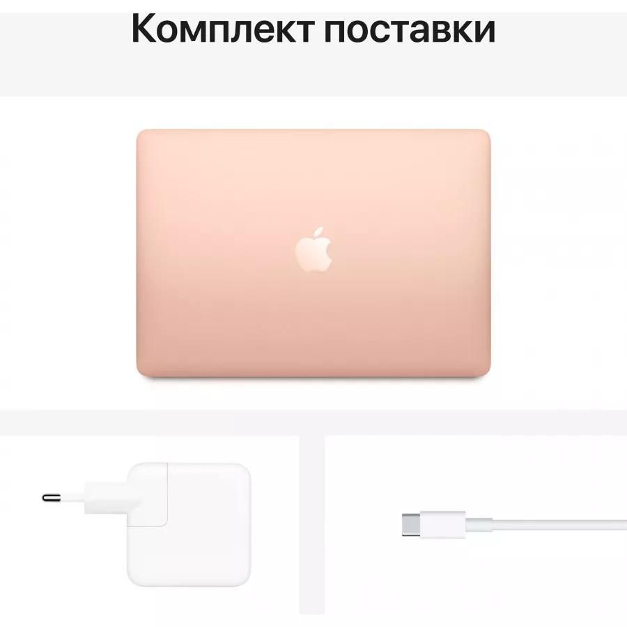 "Apple MacBook Air 13"" 2020 (M1-7, 8ГБ, 256ГБ SSD) Золотой. Вид 6"