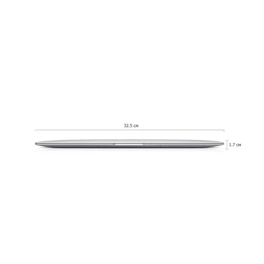 Apple MacBook Air 13,3 Late 2017 (i5 1.6ГГц, 8ГБ, 128ГБ SSD). Вид 4