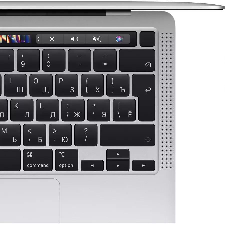 "Apple MacBook Pro 13"" 2021 (M1, 8ГБ, 256ГБ SSD) Серебристый. Вид 3"