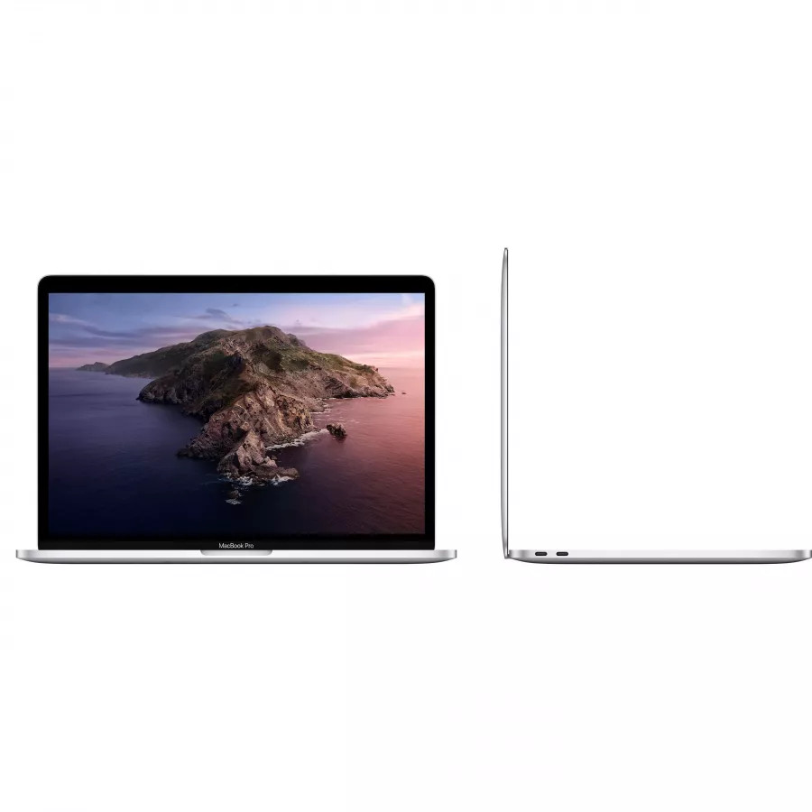 Apple MacBook Pro 13 (i5 1.4, 8ГБ, Iris Plus Graphics 645, SSD 128ГБ) Серебристый. Вид 2