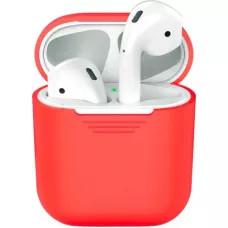 Силиконовый чехол для Apple AirPods 2 - Красный