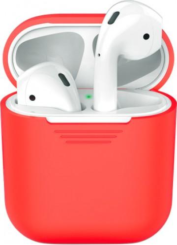 Силиконовый чехол для Apple AirPods - Красный