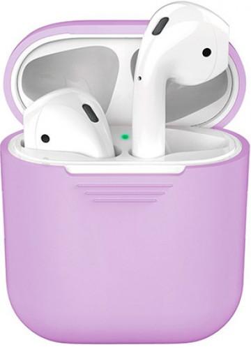Силиконовый чехол для Apple AirPods 2 - Фиолетовый