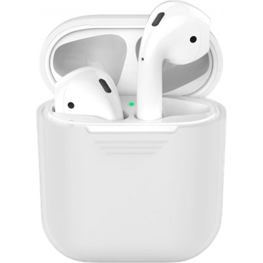 Купить Силиконовый чехол для Apple AirPods - Белый в Сочи