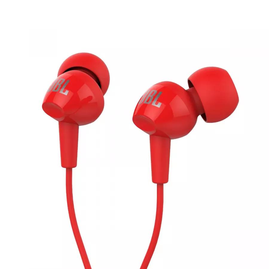 Наушники JBL C100SI - Красные. Вид 1