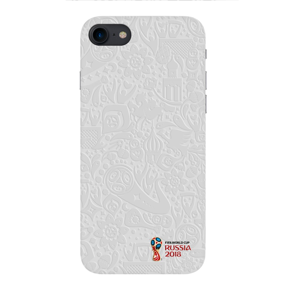Чехол FIFA_Official Pattern_white PC для Apple iPhone 7/8