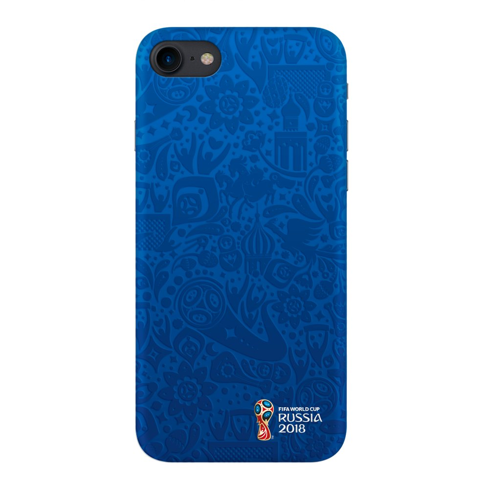 Чехол FIFA_Official Pattern_blue PC для Apple iPhone 7/8