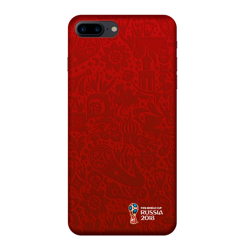 Купить Чехол FIFA_Official Pattern_red PC для Apple iPhone 7/8 Plus в Сочи