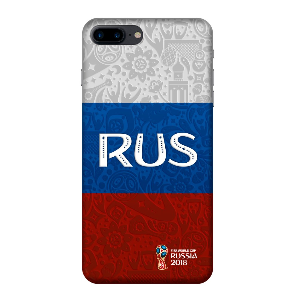 Купить Чехол FIFA_Flag Russia PC для Apple iPhone 7/8 Plus в Сочи