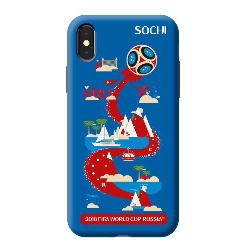Купить Чехол FIFA_Sochi TPU для Apple iPhone X в Сочи