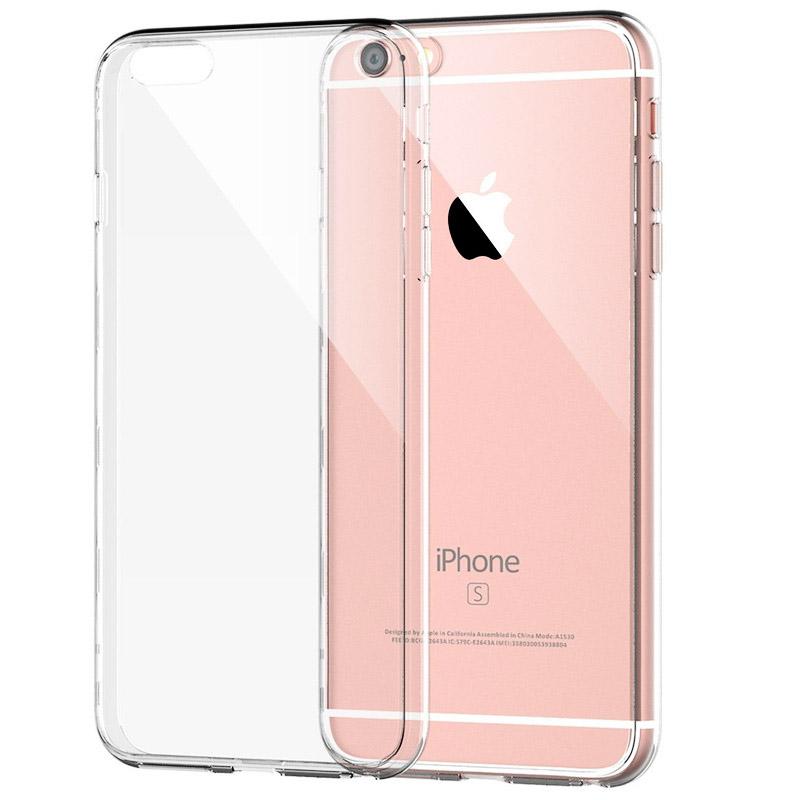 Чехол силиконовый с защитой камеры и заглушками для iPhone 7/8