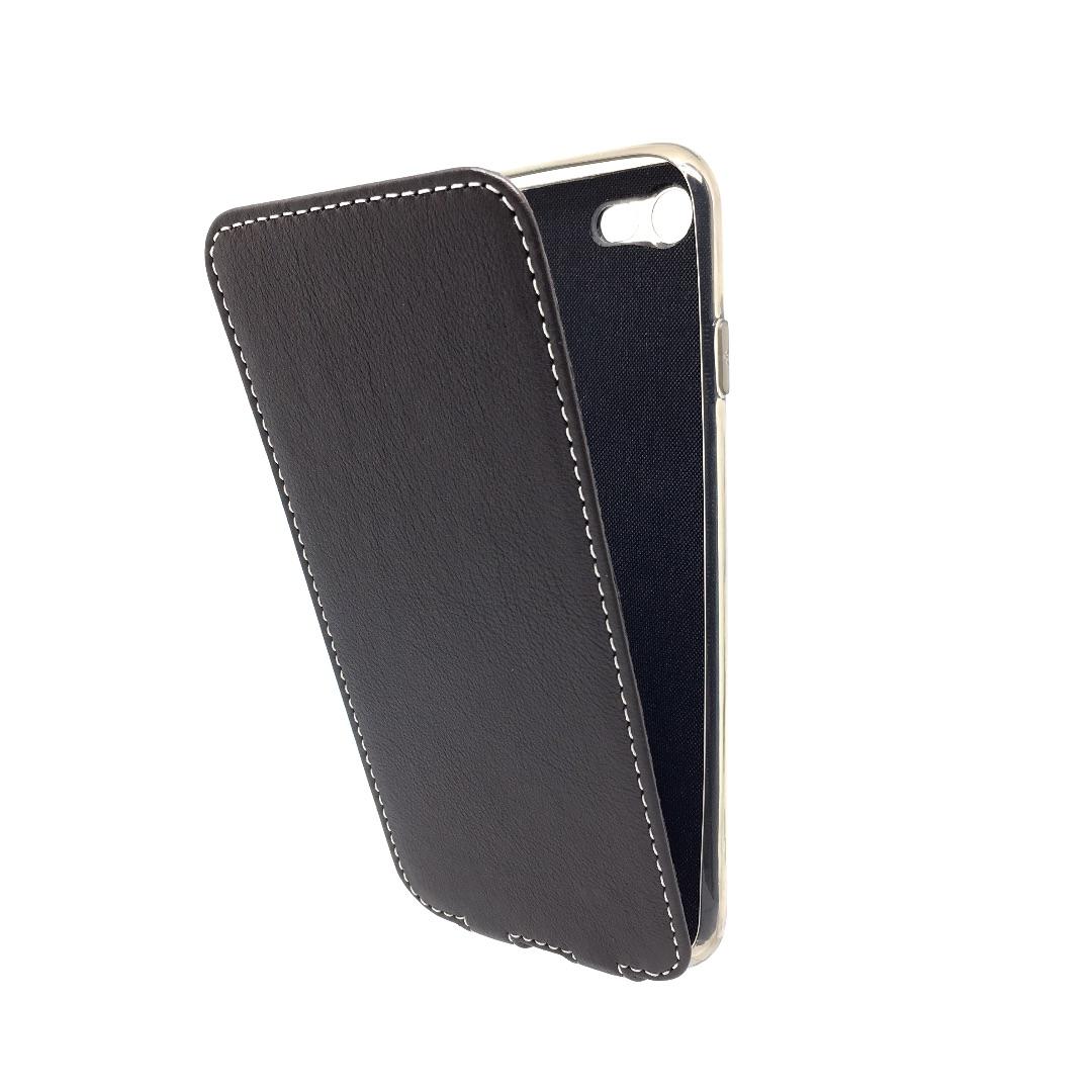 Чехол Marcel-Robert, натуральная кожа для iPhone 7/8 - Темно-коричневый