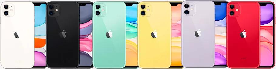 iPhone 11: демонстрация нового дизайна – вид спереди и сзади