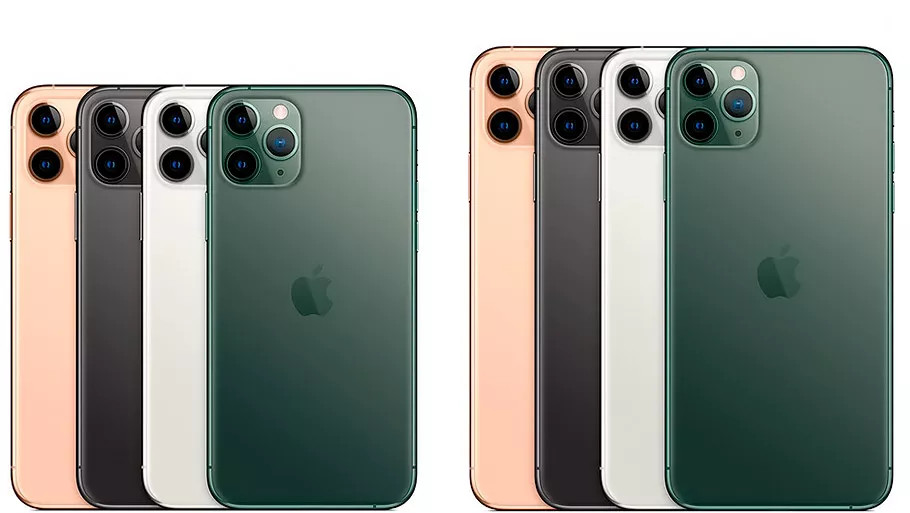 iPhone 11 Pro с тройной камерой сзади