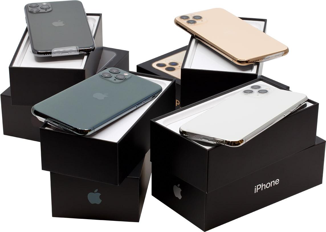 Все iPhone 11 Pro