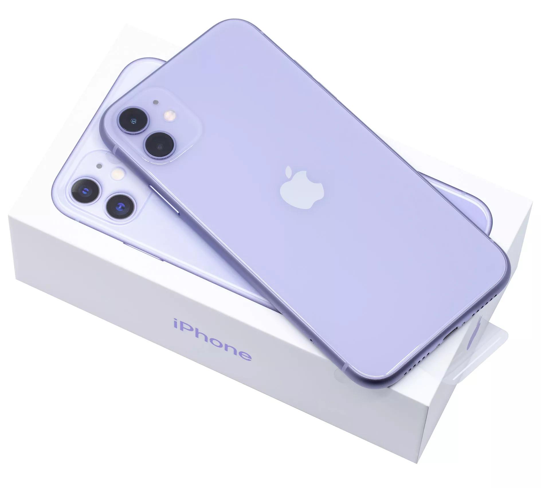 iphone 11 64гб фиолетовый