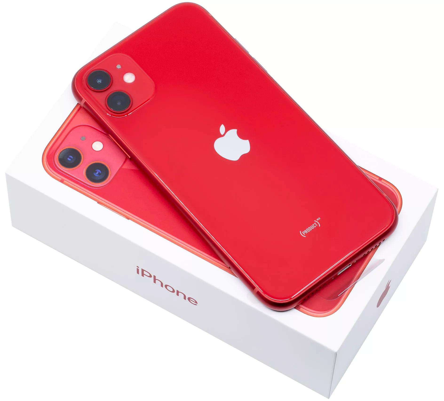 iphone 11 256гб красный