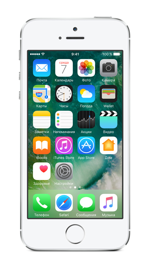 Apple iPhone 5s 16ГБ (Silver)